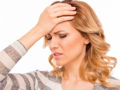 Patienten mit Kopfschmerzen