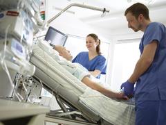 Überwachung von Schwerstkranken