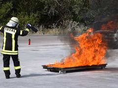 Brandschutz – richtiges Löschen will gelernt sein!