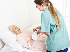 Unterstützung in der Körperpflege