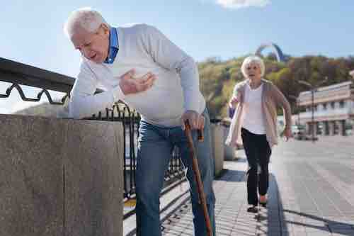 Versorgung eines chronisch kranken alten Menschen